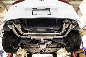 Catback CTS Turbo pour Golf 7 R