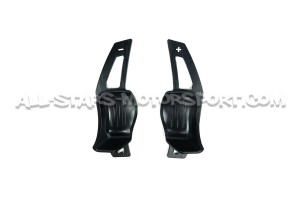 Carbon fiber paddle shifter extensions for VW DSG