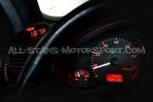 Reloj digital P3 Gauges para rejilla de ventilacion de Audi S4 / RS4 B5