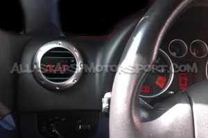 Reloj digital P3 Gauges para rejilla de ventilacion de Audi TT MK1 8N