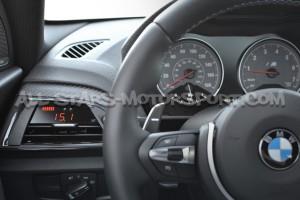 Reloj digital P3 Gauges para rejilla de ventilacion de BMW F2x / F87