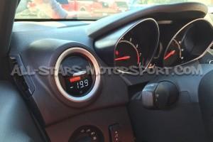 Reloj digital P3 Gauges para rejilla de ventilacion de Ford Fiesta ST 180