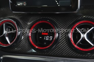 Manomètre multi digital P3 Gauges pour Mercedes A45 AMG