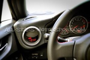 Reloj digital P3 Gauges para rejilla de ventilacion de Subaru BRZ / Toyota GT86