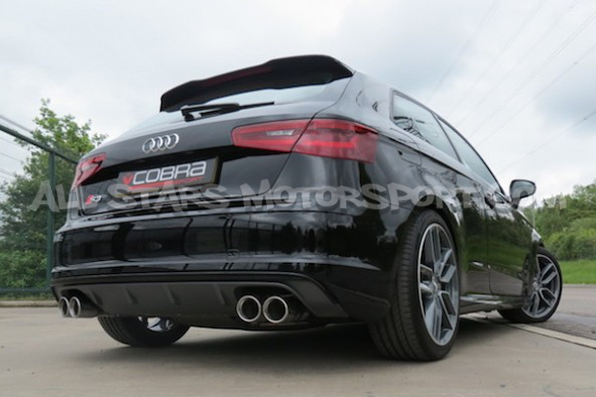 audi s3 8v 3 doors cobra sport catback. Black Bedroom Furniture Sets. Home Design Ideas
