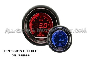 Prosport Evo Oil Pressure Gauge Red / Blue