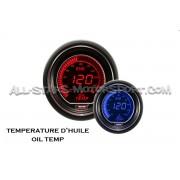 Manometre de temperature d'huile Prosport Evo