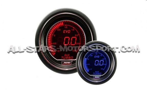 Manometre de pression de turbo electro Prosport 52mm