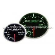 Manomètre de pression de turbo mecanique Prosport 52mm