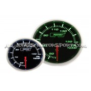 Prosport 52mm oil temperature Gauge Green / White
