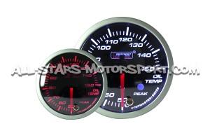 Reloj de temperatura de aceite Prosport 60mm