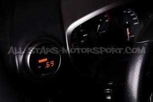 Reloj digital P3 Gauges para rejilla de ventilacion de Seat Leon 1P