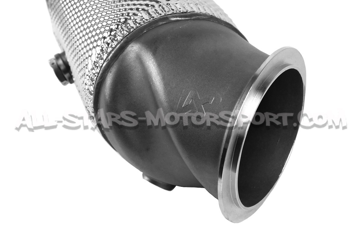 bmw m2 akrapovic downpipe with sport catalyst. Black Bedroom Furniture Sets. Home Design Ideas
