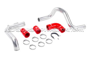 Forge polished alloy boost hard pipe for Megane 2 RS