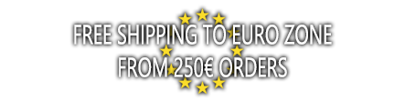 Free Shipping to Europe over 250€