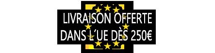 Livrasion Gratuite en Europe a partir de 250€