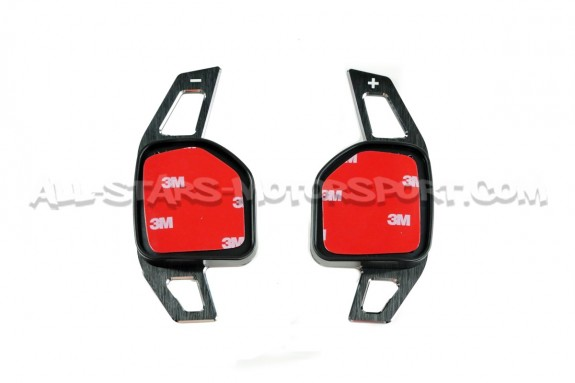 Alpha Competition aluminum paddle shifter extensions for Seat Leon 5F DSG