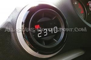 Reloj digital P3 Gauges para rejilla de ventilacion de Audi S3 / RS3 8V