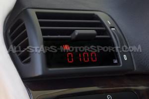 Reloj digital P3 Gauges para rejilla de ventilacion de BMW E46