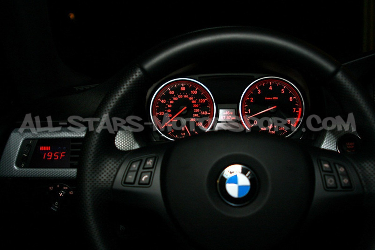 P3 Gauges Digital Vent Gauge for BMW E9X