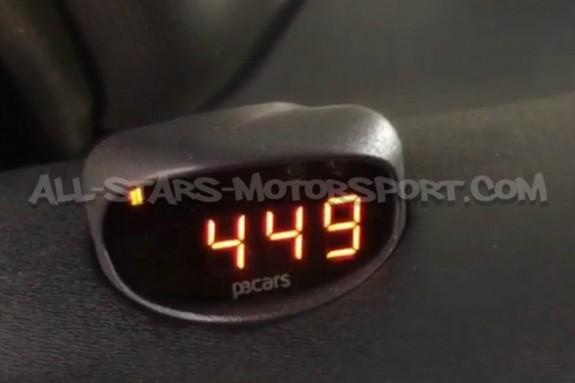 Reloj digital P3 Gauges para rejilla de ventilacion de Seat Leon 1M