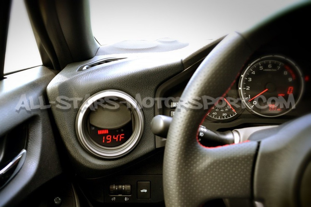 P3 Gauges Digital Vent Gauge for Subaru BRZ / Toyota GT86