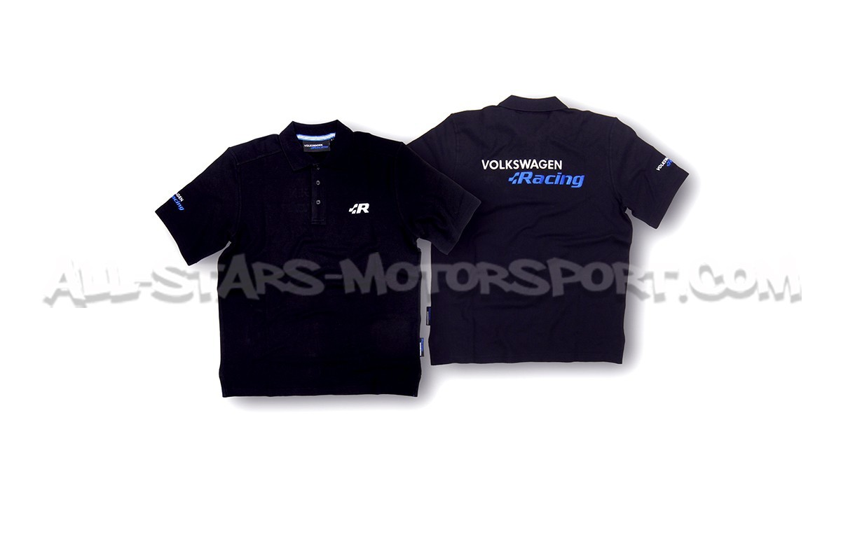 Racingline Official Black R Collection Polo