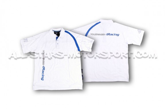Racingline Official White / Blue Polo