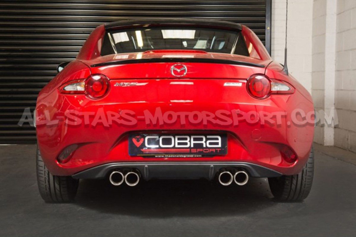 Mazda Mx5 Nd Cobra Sport Dual Catback