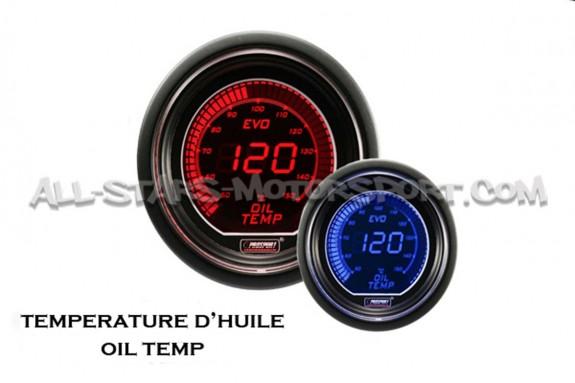 Reloj de Temperatura de Aceite Prosport Evo