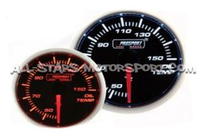 Manometre de temperature d'huile Prosport 52mm