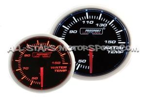 Manometre de température d'eau Prosport 52mm