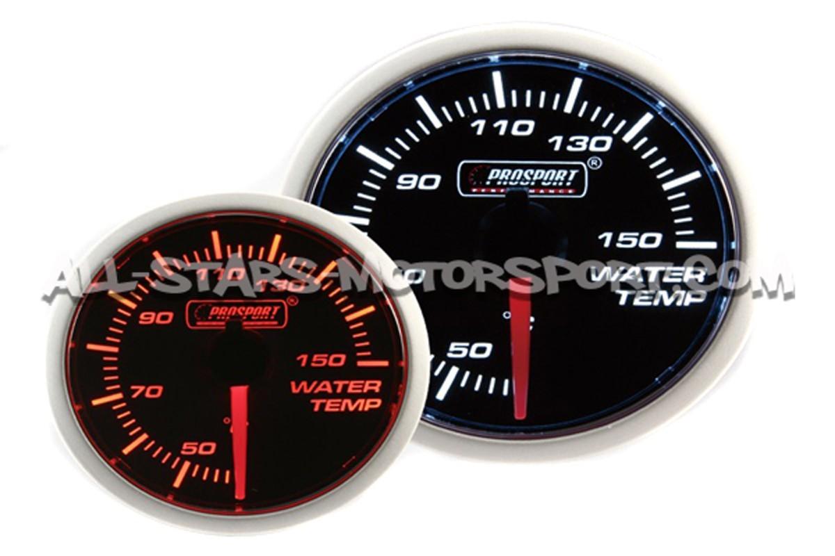 Reloj Prosport 52mm de temperatura de agua