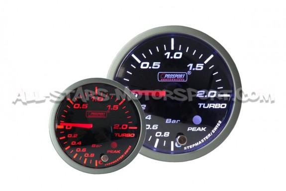 Manometre de pression de turbo Prosport Premium 60mm