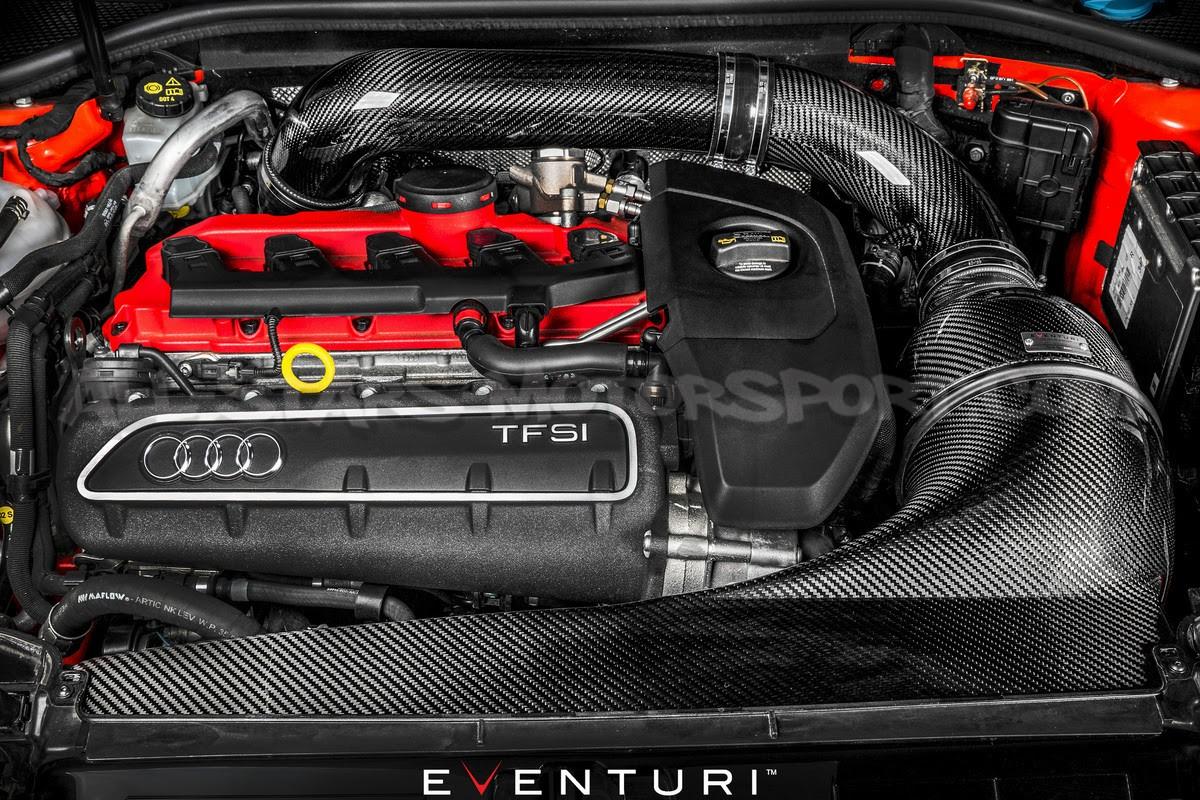 Audi RS3 8V Eventuri Carbon Fiber Intake System