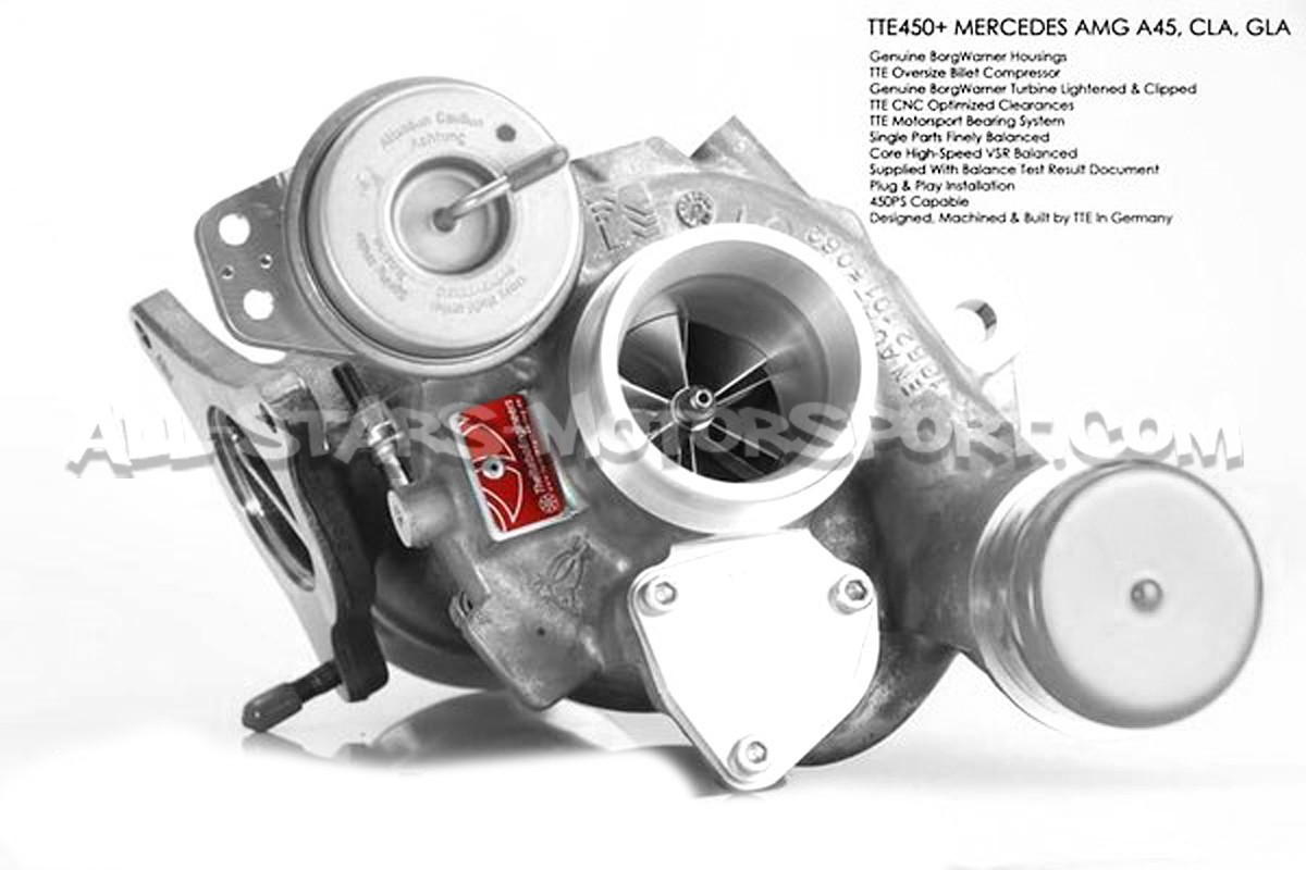 Tte450 Turbo For Mercedes A45 Amg