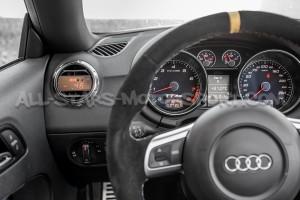 Reloj digital P3 Gauges para rejilla de ventilacion de Audi TT MK2 8J