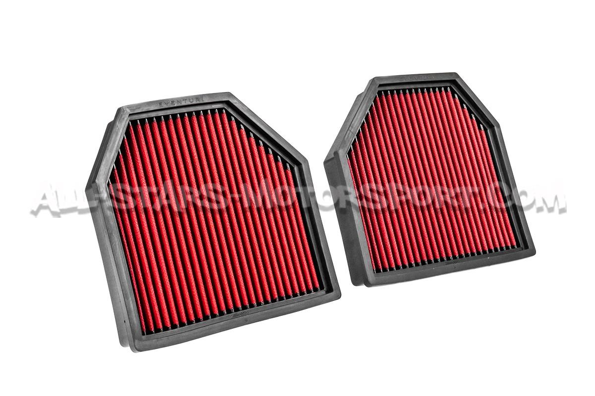Filtros de aire deportivos Eventuri para BMW M5 / M6 F10
