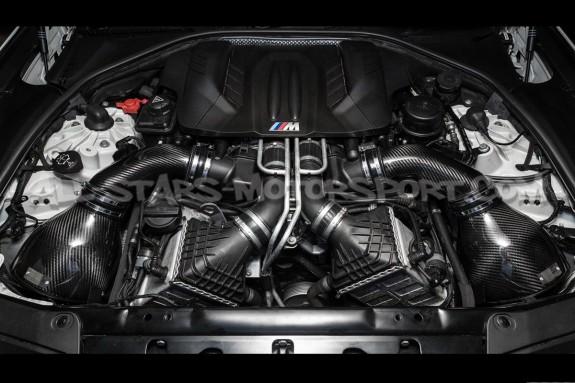 Admision de carbono Eventuri para BMW M5 F10