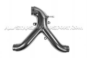 Tubo Y de Fibra de Carbono de 034 Motorsport para S4 / RS4 B5
