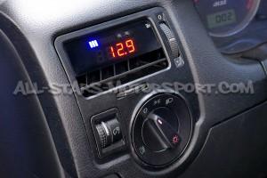 Reloj digital P3 Gauges para rejilla de ventilacion de Golf 4 GTI / R32