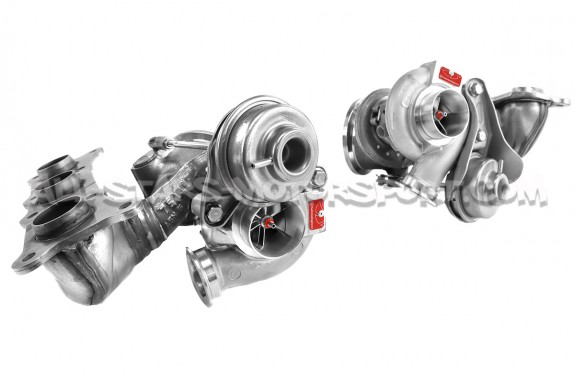 Turbos TTE600 pour BMW 135i / 335i / 1M N54