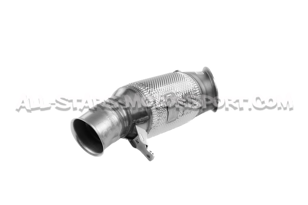 BMW M2 Akrapovic Downpipe with Sport Catalyst