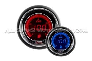 Reloj de presion de Aceite Prosport Evo Rojo / Azul