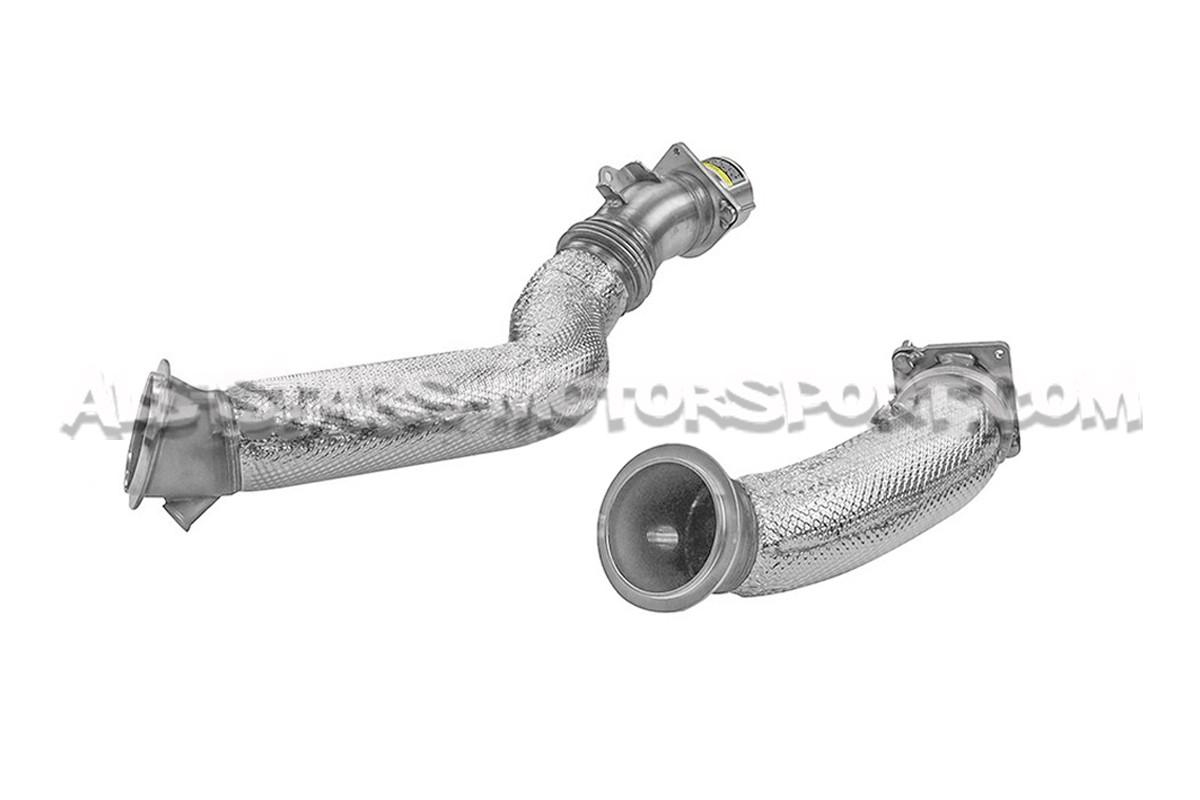 Downpipes descatalizadas Akrapovic para BMW M2 Comp / M3 F80 / M4 F82