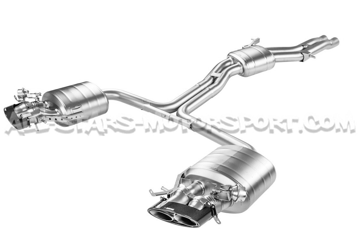 RS6 C7 Akrapovic Evolution Line Exhaust