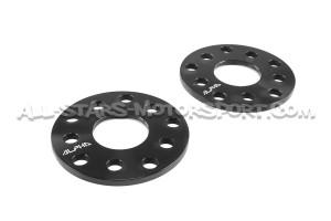 Elargisseurs de voie Alpha 5x100 / 5x112 de 5 a 15mm pour Audi A1 / A3 / S3 / RS3 / TT