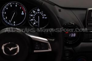Reloj digital de ventilacion P3 Gauges para Mercedes C63 W205