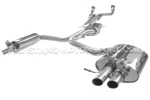 Catback Scorpion avec valves pour Audi RS4 B8 / RS5 B8