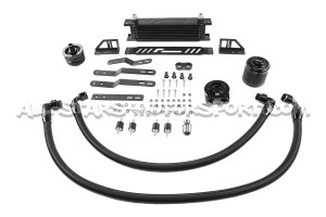 Radiador de aceite Racingline para Golf 7 GTI / R / TT 8S / Leon 3 Cupra / S3 8V